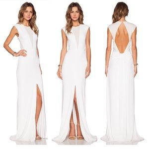 *NWOT* Rachel Zoe - White Maxi Dress (Size 0)